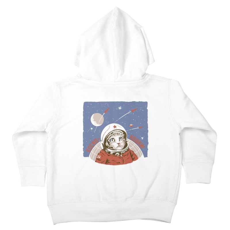 Soviet Space Cat Kids Toddler Zip-Up Hoody by sketchboy01's Artist Shop