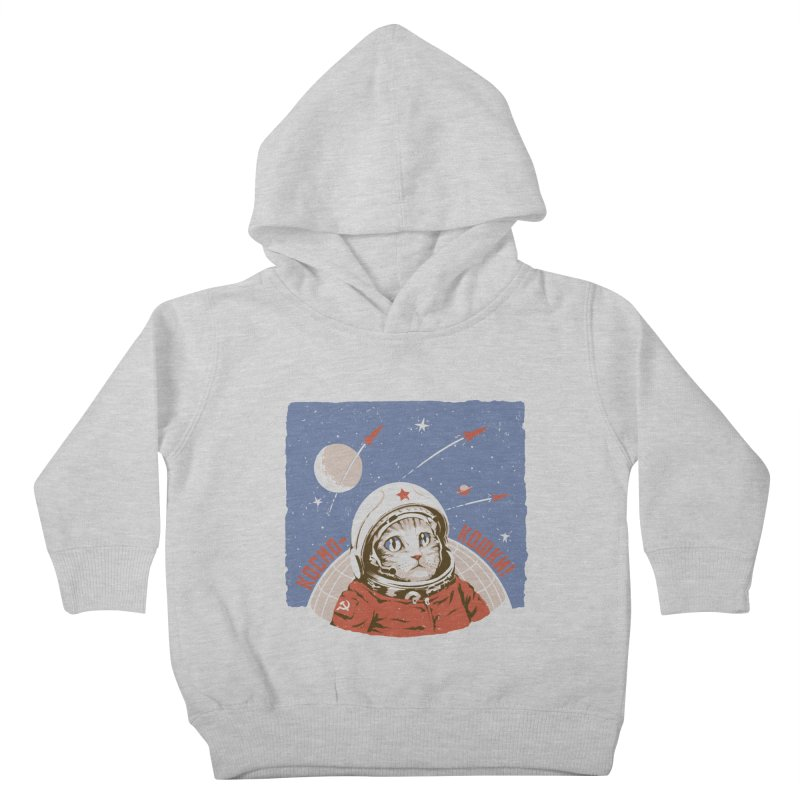 Soviet Space Cat Kids Toddler Pullover Hoody by sketchboy01's Artist Shop