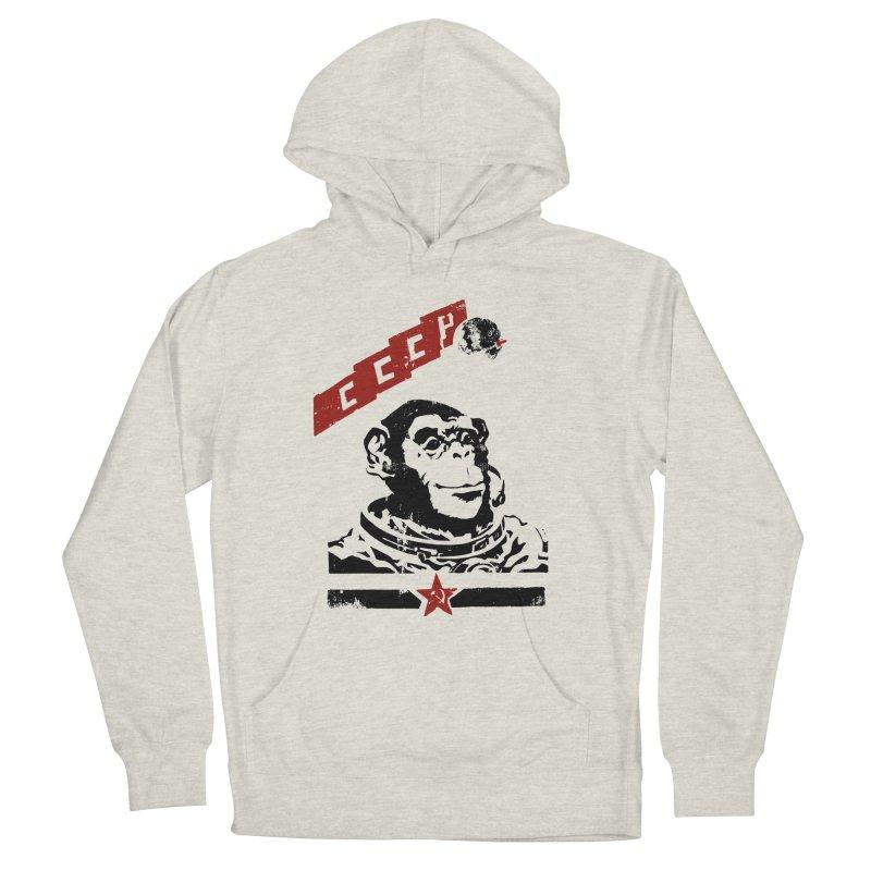 Soviet Space Monkey Women's Pullover Hoody by sketchboy01's Artist Shop