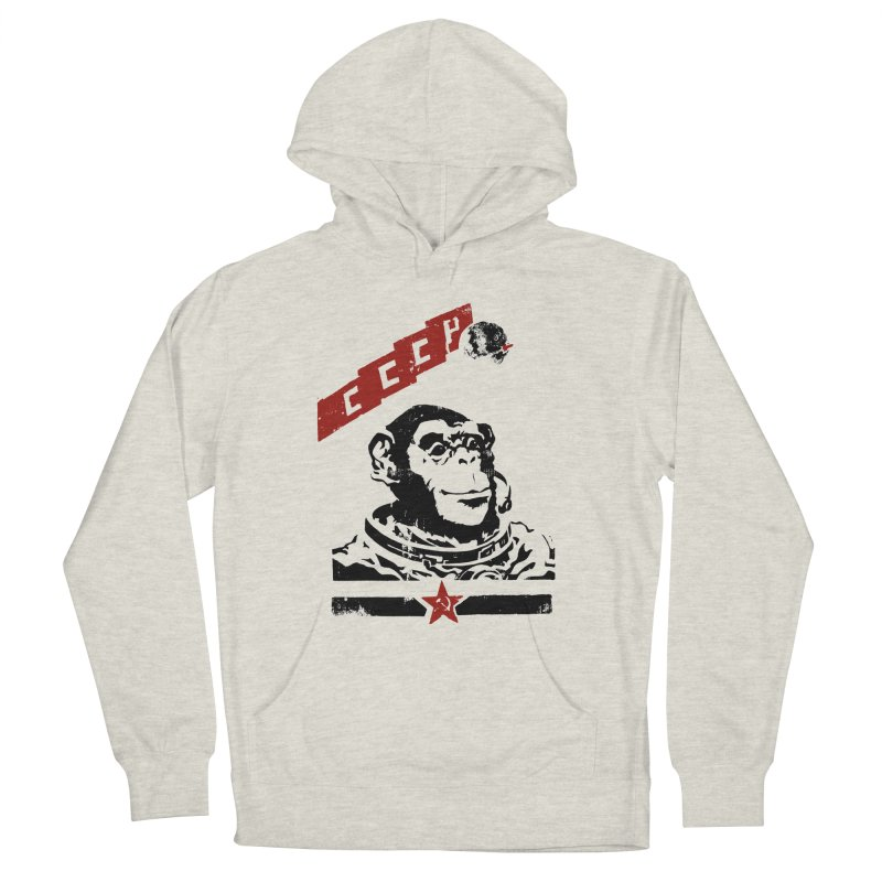 Soviet Space Monkey Men's Pullover Hoody by sketchboy01's Artist Shop