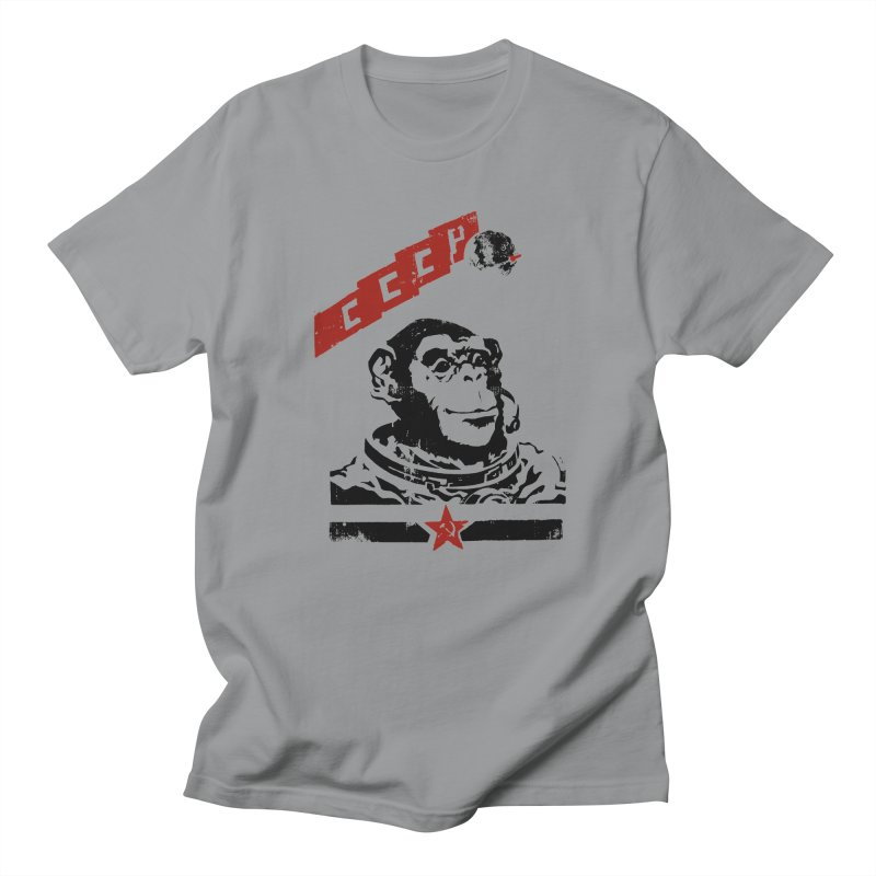 Soviet Space Monkey Men's T-Shirt by sketchboy01's Artist Shop