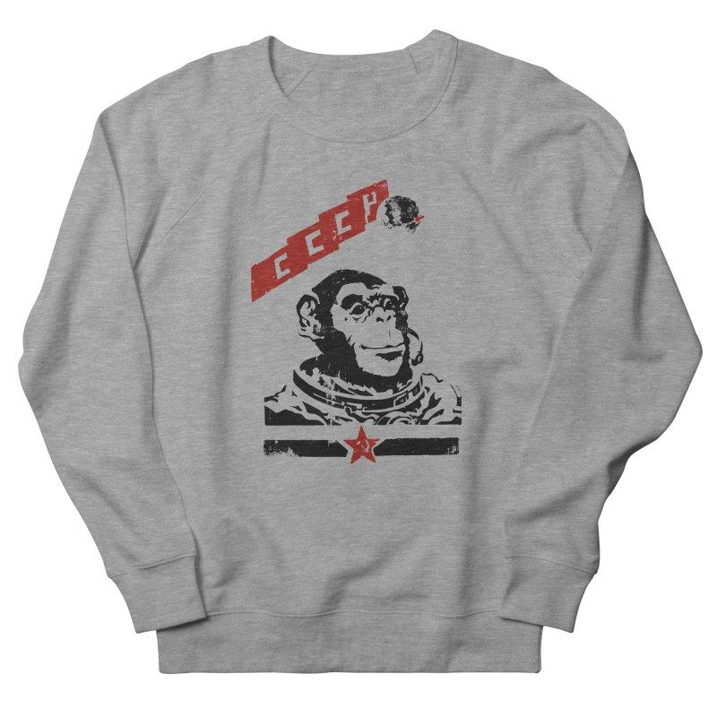 Soviet Space Monkey Men's Sweatshirt by sketchboy01's Artist Shop