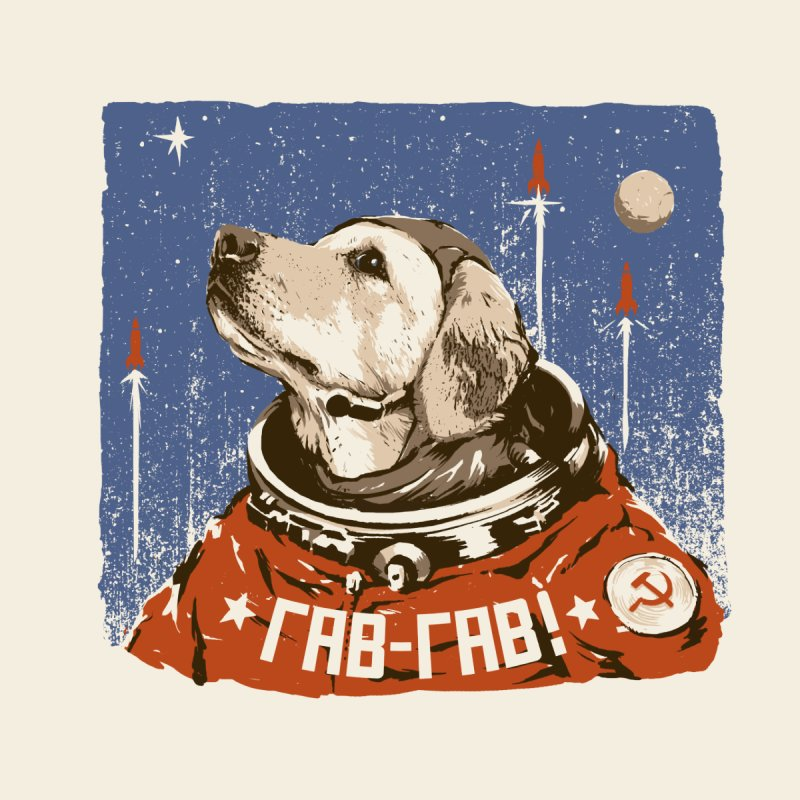 Soviet Space Dog None  by sketchboy01's Artist Shop