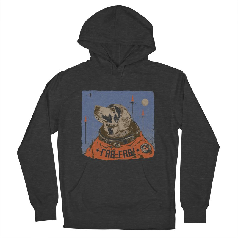 Soviet Space Dog Men's Pullover Hoody by sketchboy01's Artist Shop