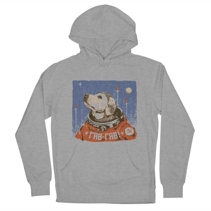 Soviet Space Dog Men's Pullover Hoody by sketchboy01's Artist Shop