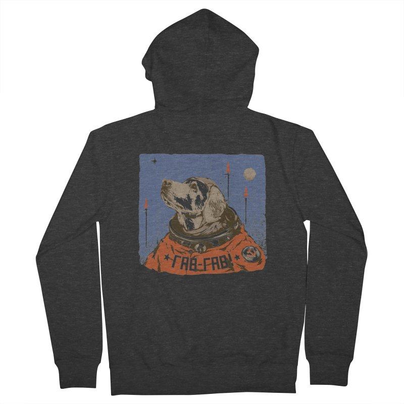 Soviet Space Dog Women's Zip-Up Hoody by sketchboy01's Artist Shop