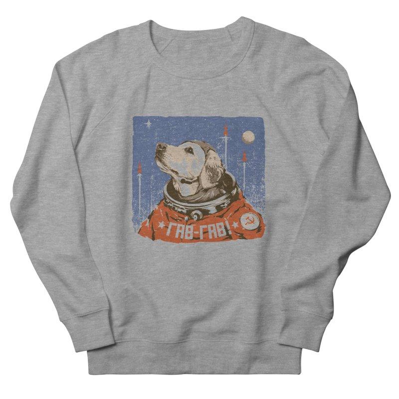 Soviet Space Dog Men's Sweatshirt by sketchboy01's Artist Shop