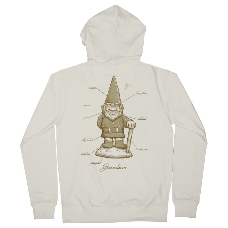 Gnomenclature Women's Zip-Up Hoody by sketchboy01's Artist Shop