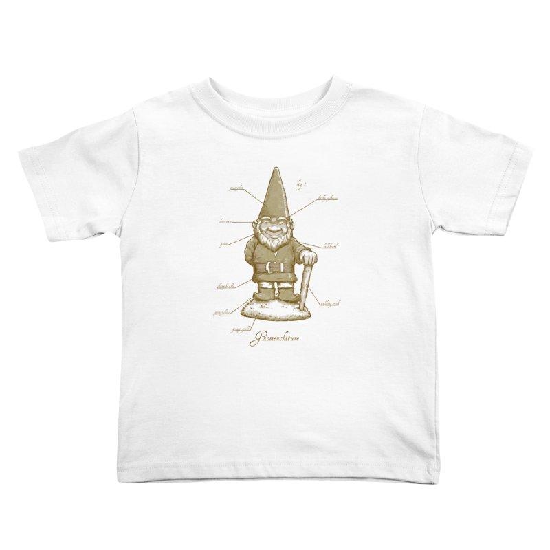Gnomenclature Kids Toddler T-Shirt by sketchboy01's Artist Shop