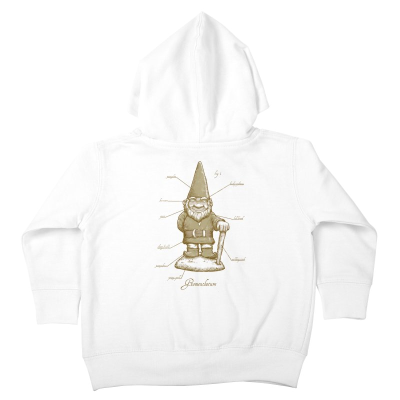 Gnomenclature Kids Toddler Zip-Up Hoody by sketchboy01's Artist Shop