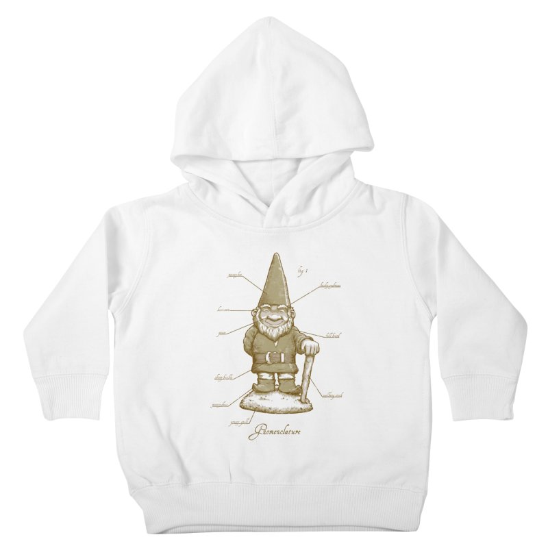Gnomenclature Kids Toddler Pullover Hoody by sketchboy01's Artist Shop