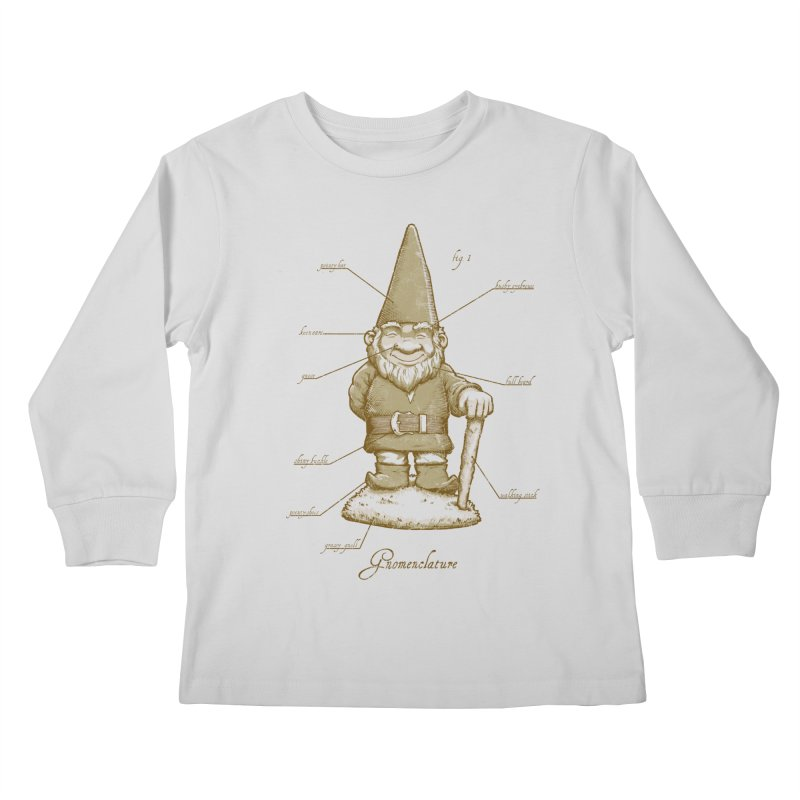 Gnomenclature Kids Longsleeve T-Shirt by sketchboy01's Artist Shop