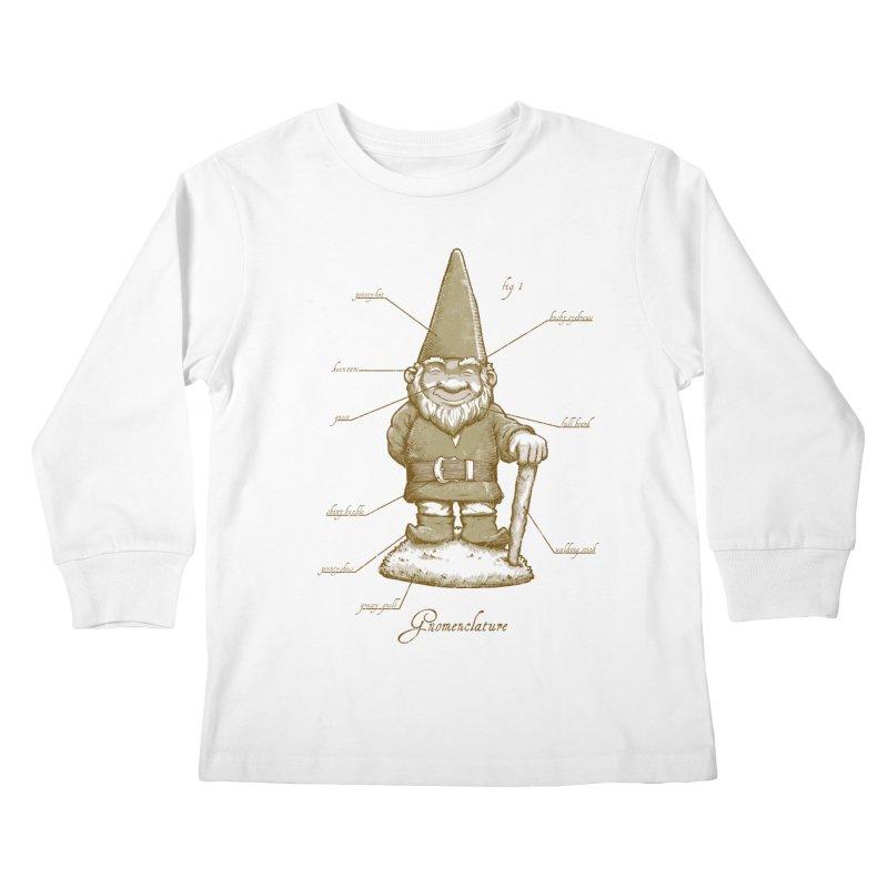 Gnomenclature Kids Longsleeve T-Shirt by sketchboy01's Artist Shop