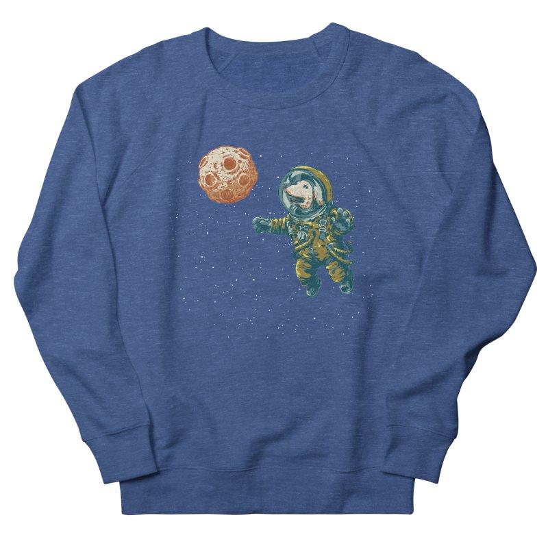 Soviet Space Dog Fetching Planet Women's Sweatshirt by sketchboy01's Artist Shop