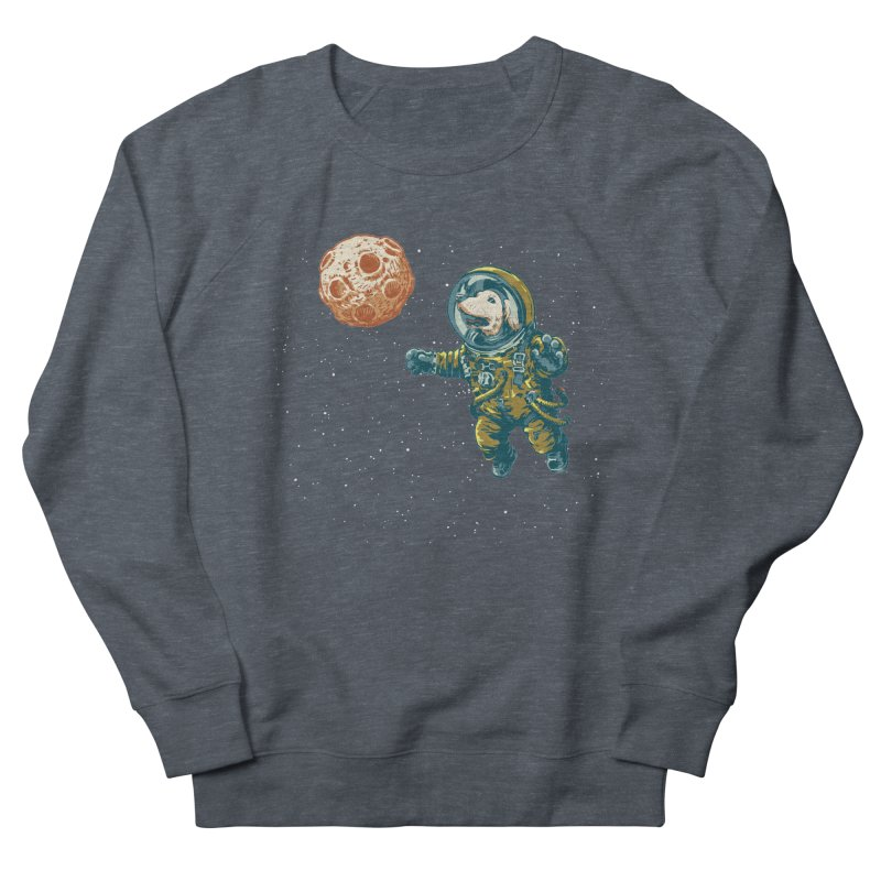 Soviet Space Dog Fetching Planet   by sketchboy01's Artist Shop