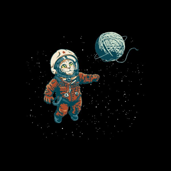 image for Soviet Space Cat Yarn Planet