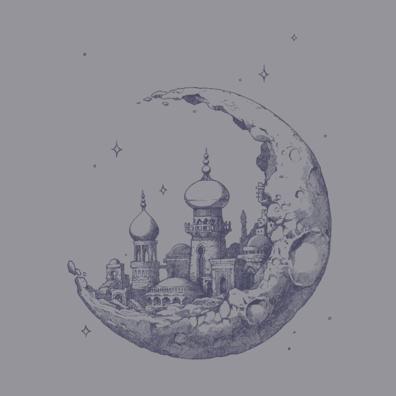Arabian Crescent None  by sketchboy01's Artist Shop