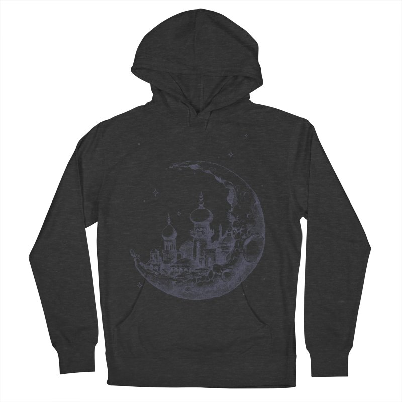 Arabian Crescent Women's Pullover Hoody by sketchboy01's Artist Shop