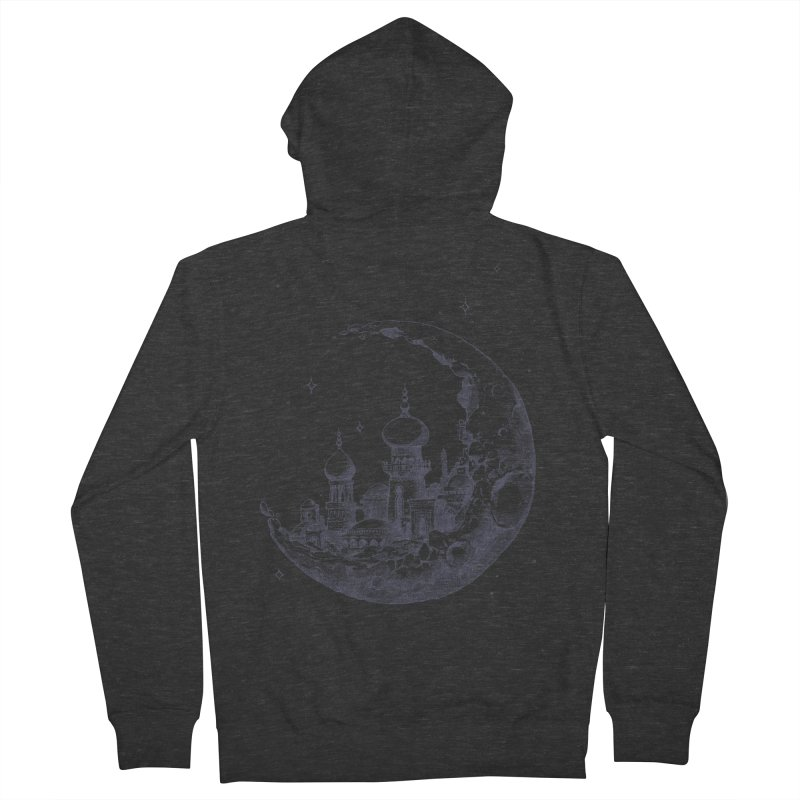 Arabian Crescent Men's Zip-Up Hoody by sketchboy01's Artist Shop