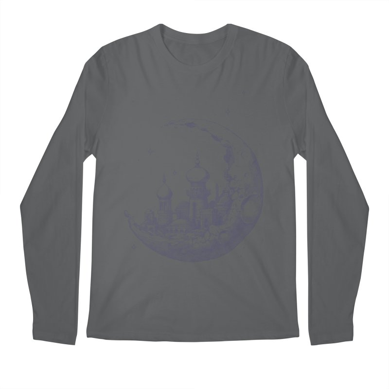Arabian Crescent Men's Longsleeve T-Shirt by sketchboy01's Artist Shop