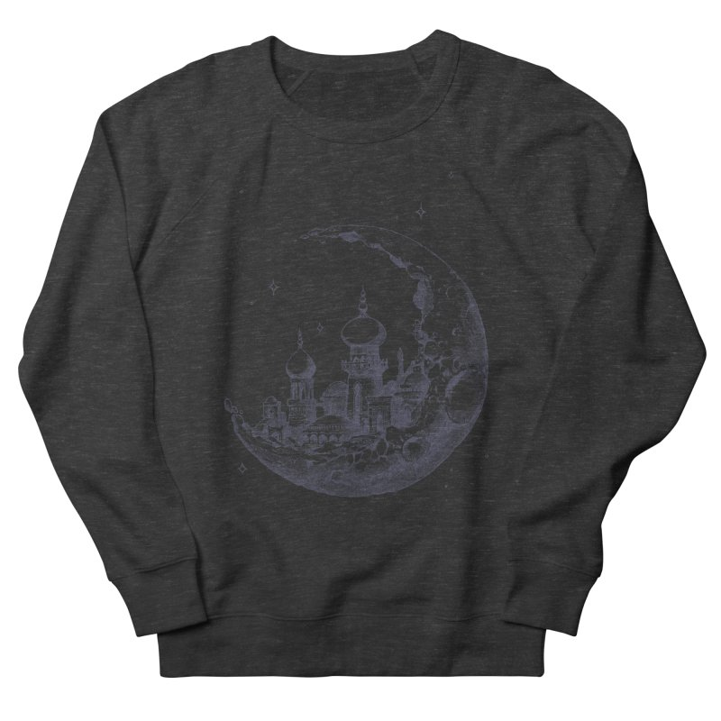 Arabian Crescent Women's Sweatshirt by sketchboy01's Artist Shop