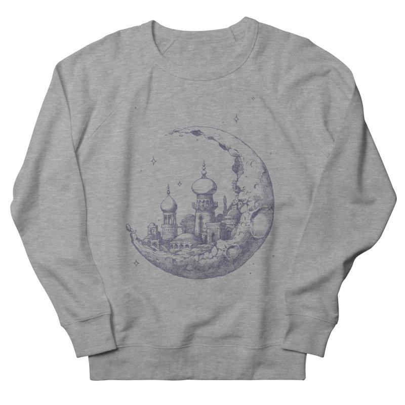 Arabian Crescent Women's Sweatshirt by sketchboy01's Artist Shop