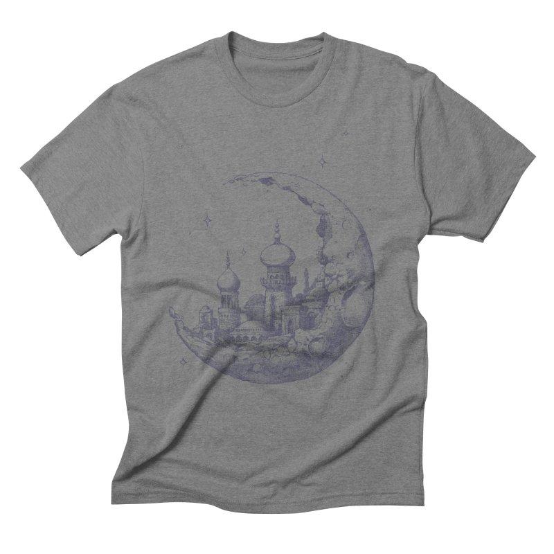 Arabian Crescent Men's Triblend T-Shirt by sketchboy01's Artist Shop