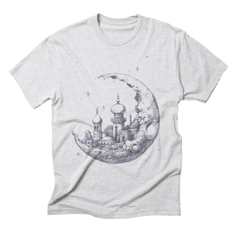 Arabian Crescent Men's Triblend T-shirt by sketchboy01's Artist Shop