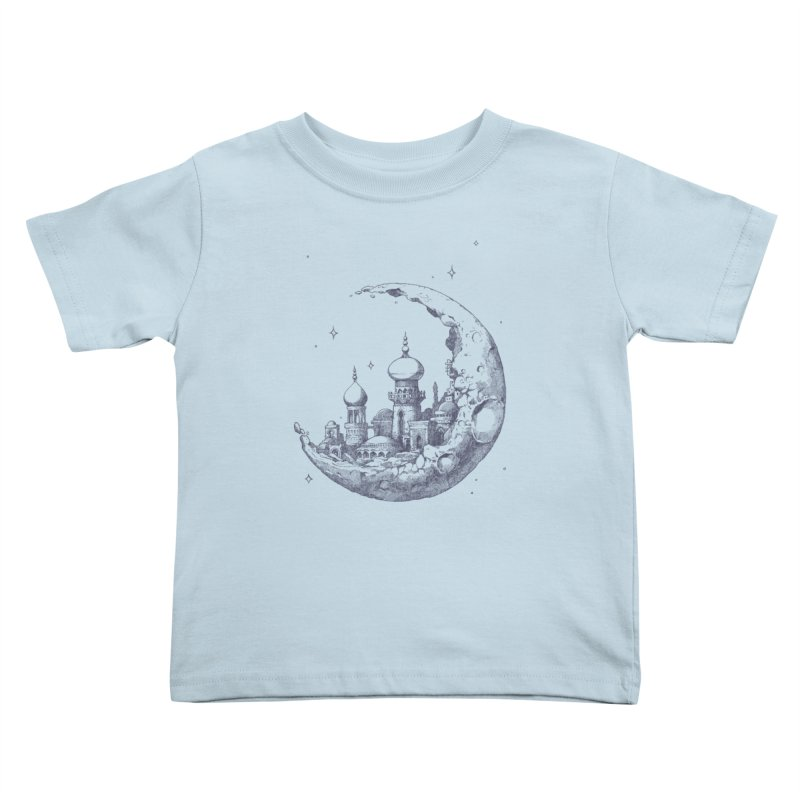 Arabian Crescent Kids Toddler T-Shirt by sketchboy01's Artist Shop