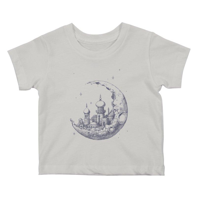 Arabian Crescent Kids Baby T-Shirt by sketchboy01's Artist Shop