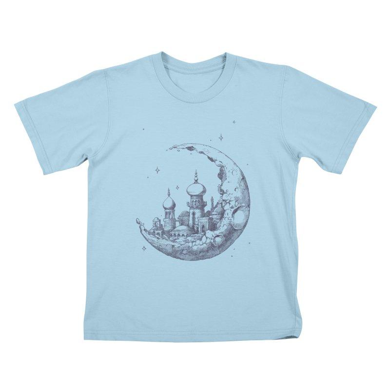 Arabian Crescent Kids T-Shirt by sketchboy01's Artist Shop