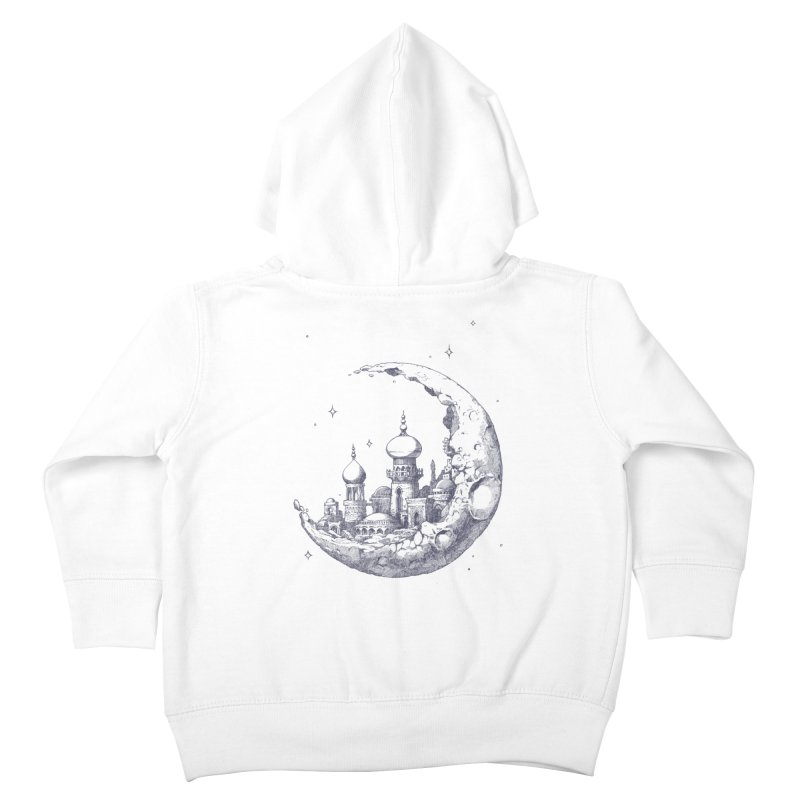 Arabian Crescent Kids Toddler Zip-Up Hoody by sketchboy01's Artist Shop
