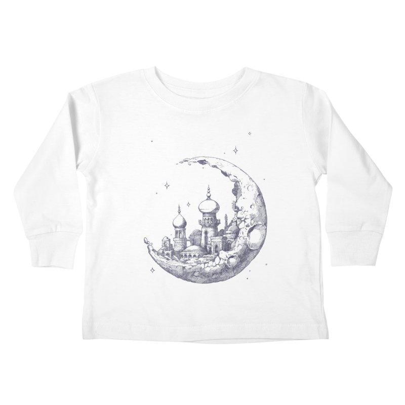 Arabian Crescent Kids Toddler Longsleeve T-Shirt by sketchboy01's Artist Shop