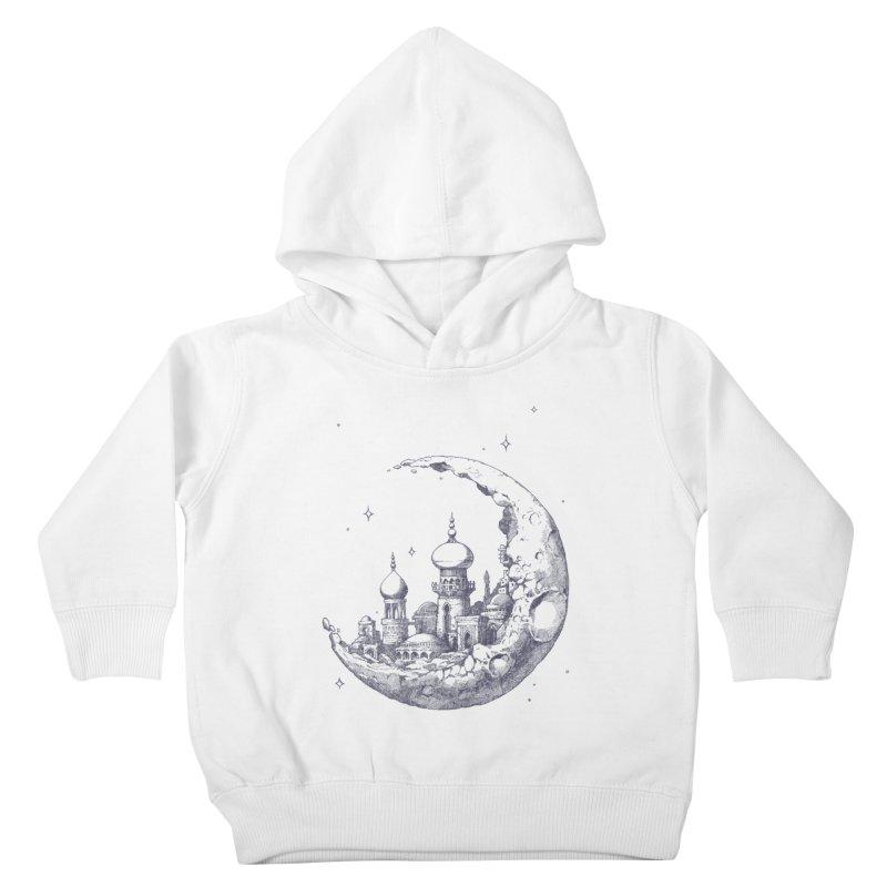 Arabian Crescent Kids Toddler Pullover Hoody by sketchboy01's Artist Shop