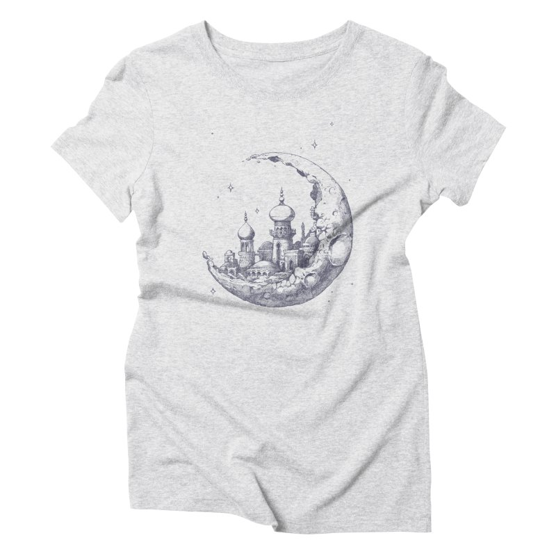 Arabian Crescent Women's Triblend T-Shirt by sketchboy01's Artist Shop