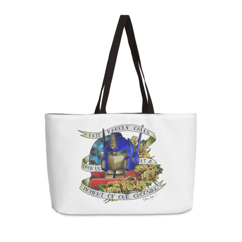 Robots in Disguise Accessories Bag by sketchesbecrazy