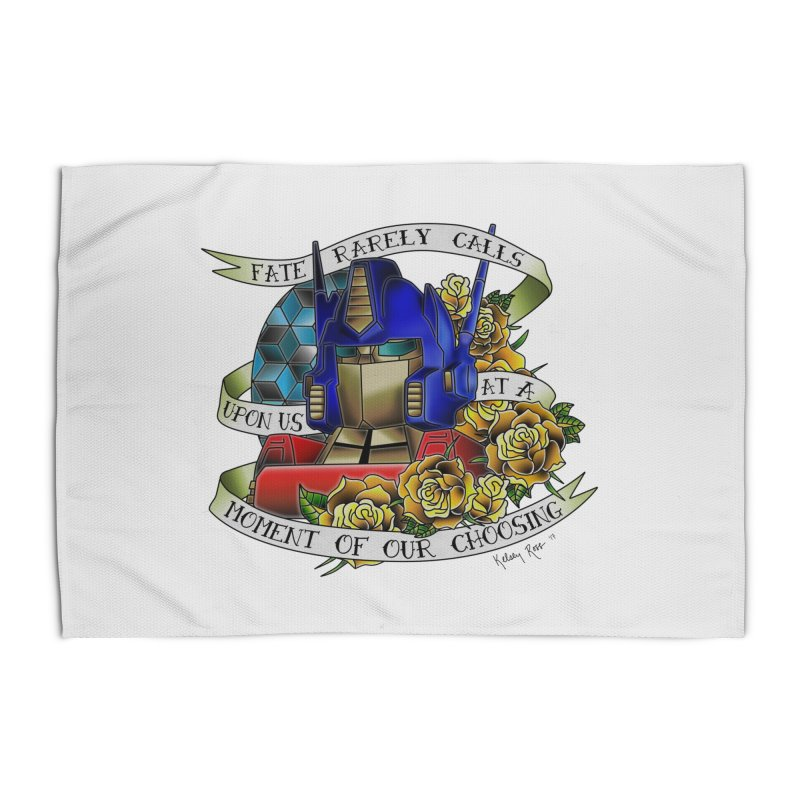 Robots in Disguise Home Rug by sketchesbecrazy