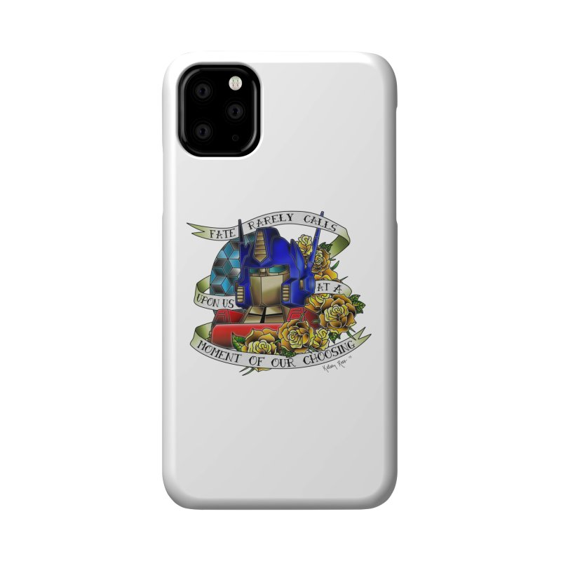 Robots in Disguise Accessories Phone Case by sketchesbecrazy