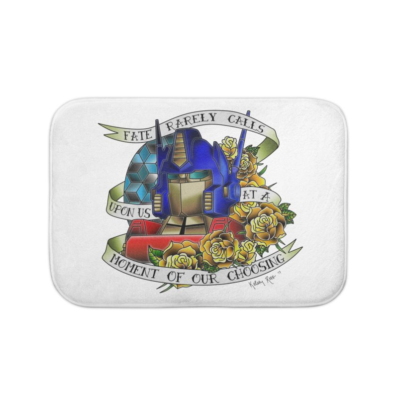 Robots in Disguise Home Bath Mat by sketchesbecrazy