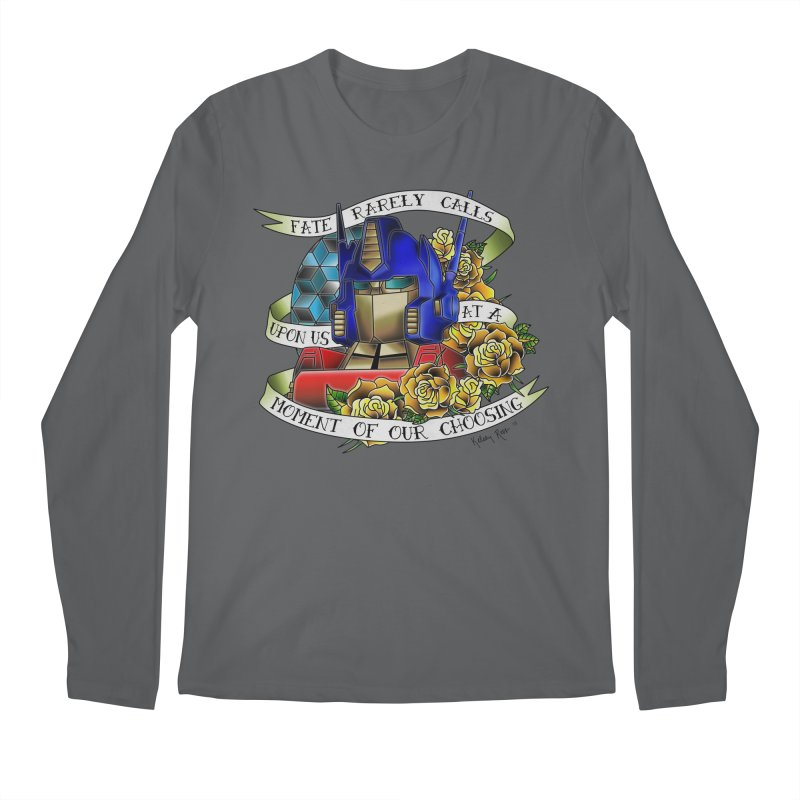 Robots in Disguise Men's Longsleeve T-Shirt by sketchesbecrazy