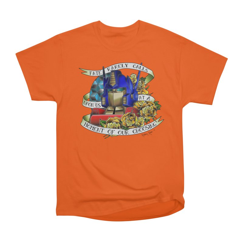 Robots in Disguise Men's Heavyweight T-Shirt by sketchesbecrazy