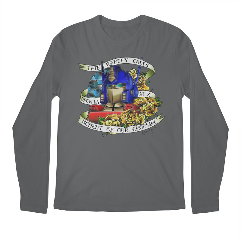 Robots in Disguise Men's Regular Longsleeve T-Shirt by sketchesbecrazy