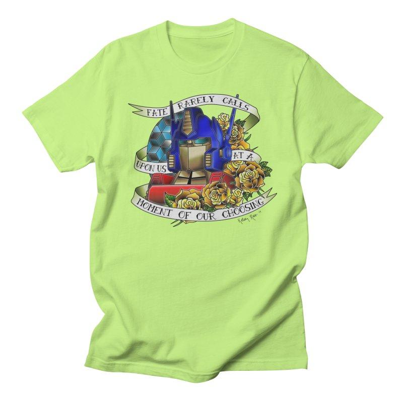 Robots in Disguise Men's Regular T-Shirt by sketchesbecrazy