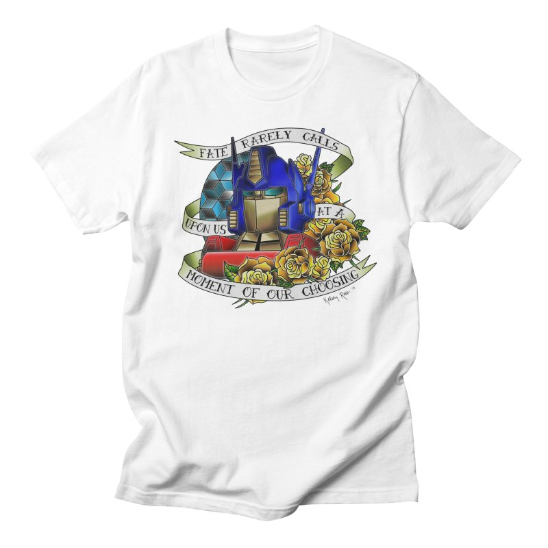 Robots in Disguise Men's T-Shirt by sketchesbecrazy