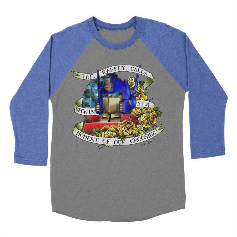 Robots in Disguise Men's Baseball Triblend Longsleeve T-Shirt by sketchesbecrazy