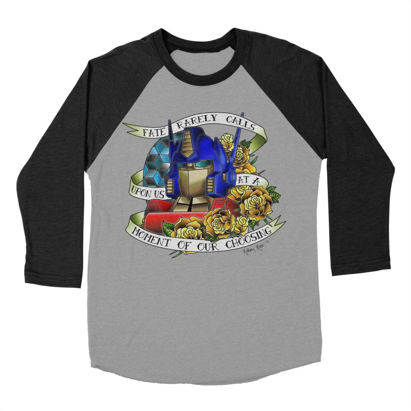 Robots in Disguise Men's Baseball Triblend Longsleeve T-Shirt by sketchesbecrazy