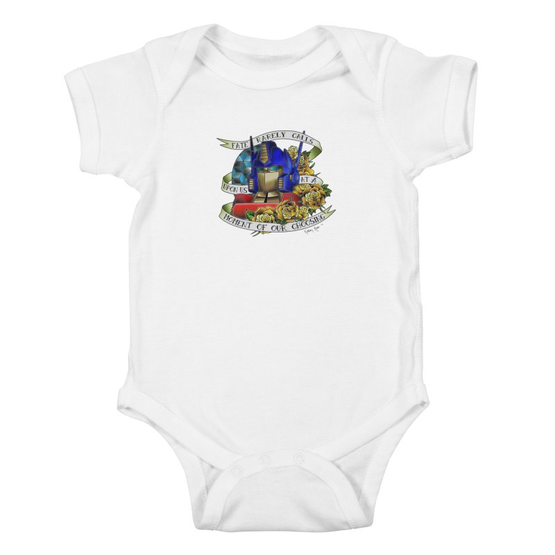 Robots in Disguise Kids Baby Bodysuit by sketchesbecrazy