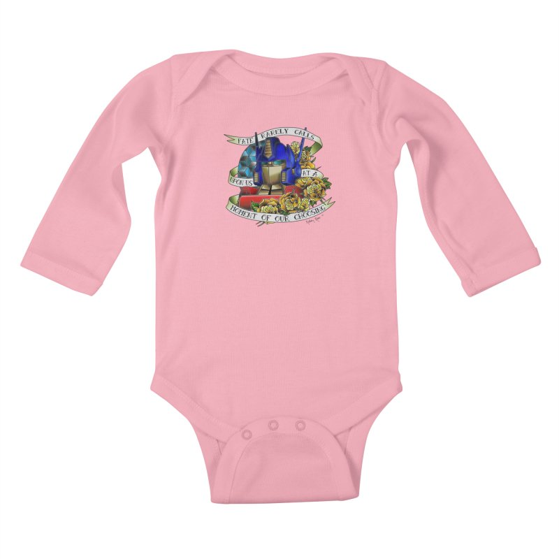 Robots in Disguise Kids Baby Longsleeve Bodysuit by sketchesbecrazy