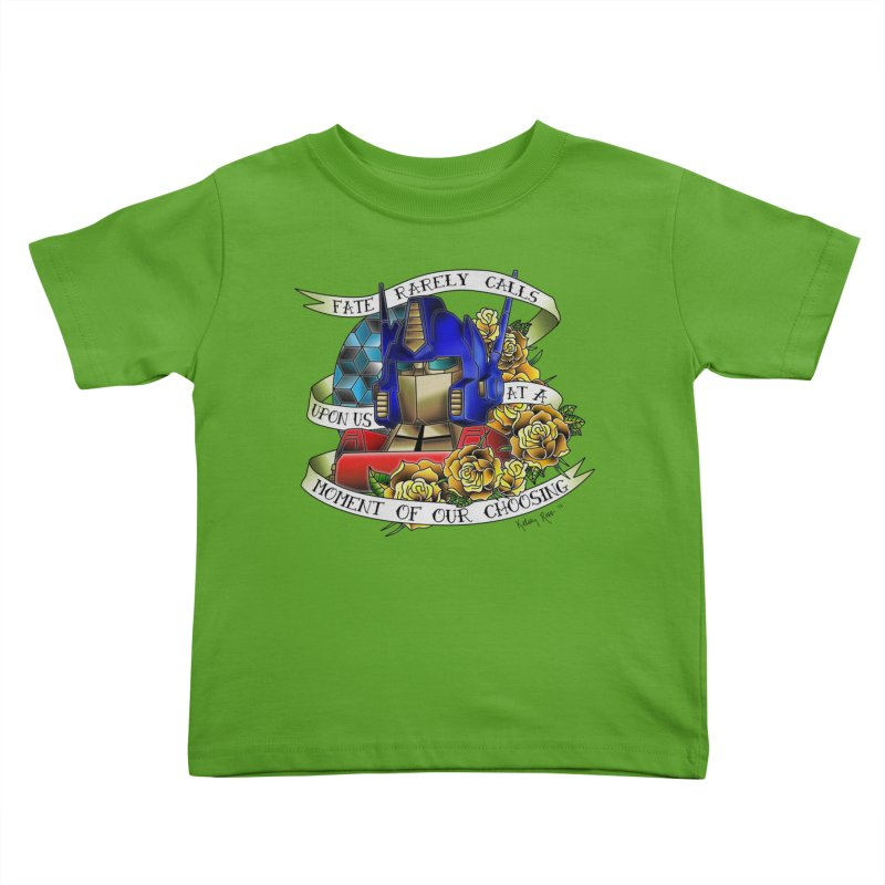 Robots in Disguise Kids Toddler T-Shirt by sketchesbecrazy