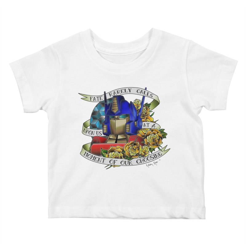 Robots in Disguise Kids Baby T-Shirt by sketchesbecrazy